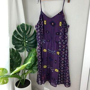 Purple Aztec print dress!